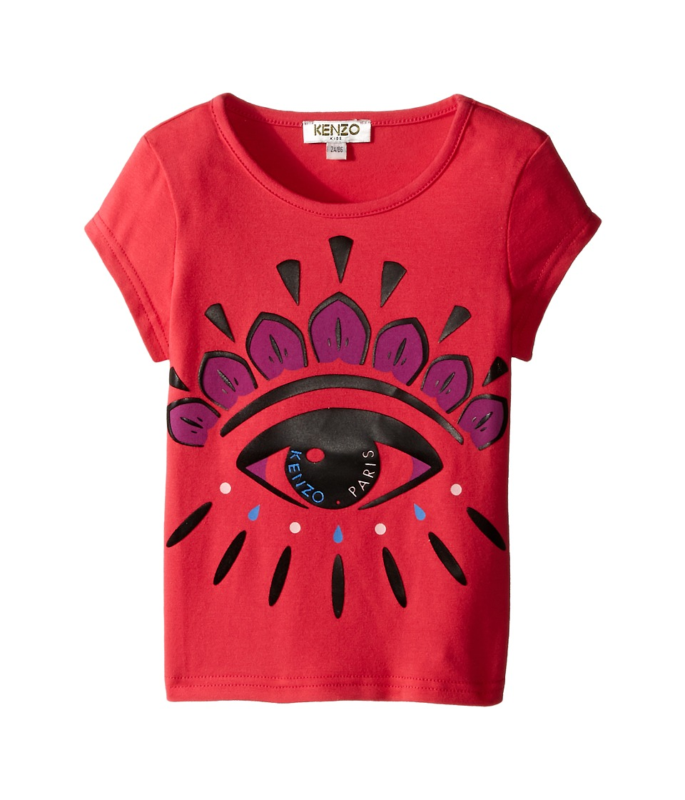 Kenzo Kids Eye T Shirt Toddler Fuchsia Girls T Shirt