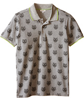 Kenzo Kids - All Over Tiger Polo Shirt (Little Kids/Big Kids)