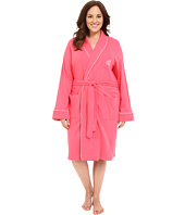 LAUREN Ralph Lauren - Plus Size Essentials Quilted Collar and Cuff Robe