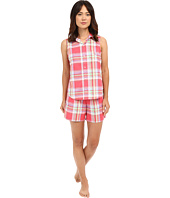 LAUREN Ralph Lauren - Sleeveless Cotton Lawn Boxer PJ Set