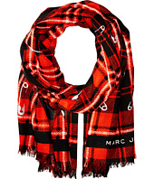 Marc Jacobs - Red Plaid Stole