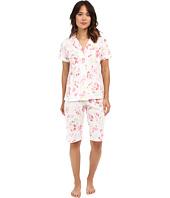 LAUREN Ralph Lauren - Knit Bermuda PJ Set