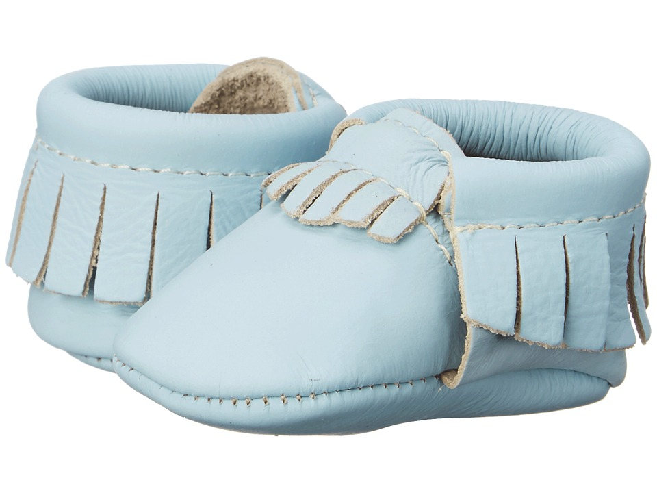 Freshly Picked - Newborn Moccasins (Infant) (Petite Sky) Kids Shoes