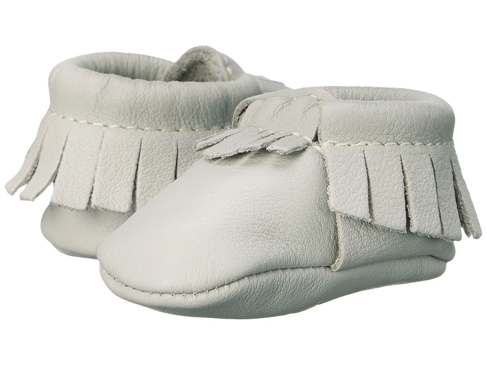 Freshly Picked - Newborn Moccasins (Infant) (Petite Cashmere) Kids Shoes