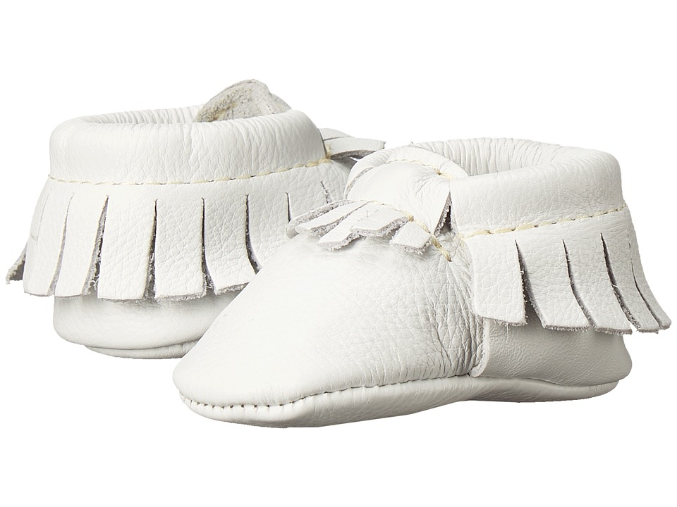 Freshly Picked - Newborn Moccasins (Infant) (Petite Ivory) Kids Shoes