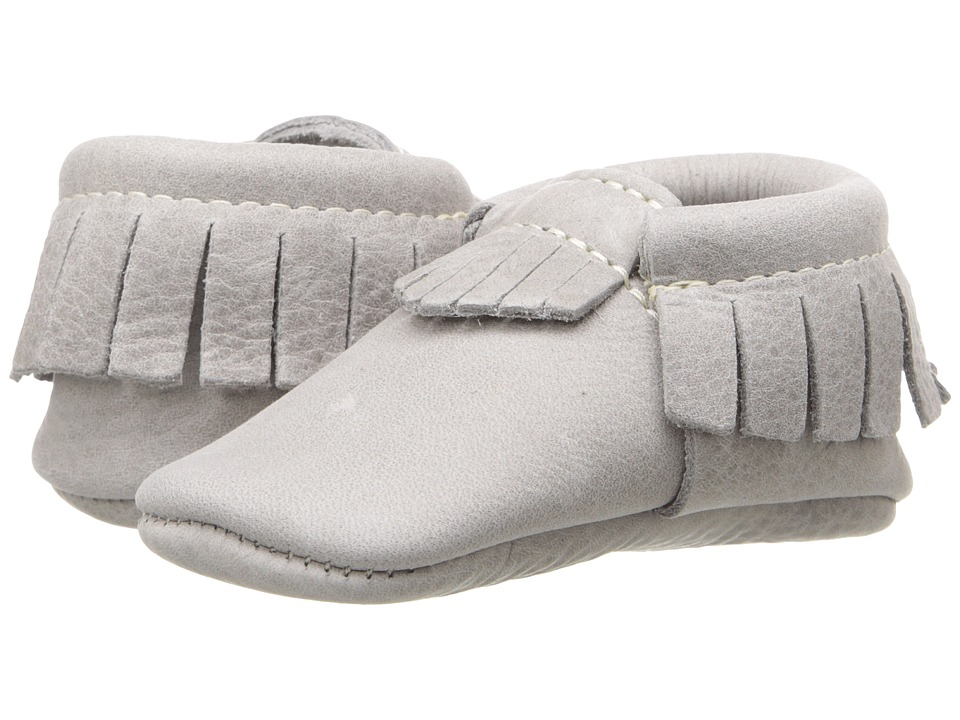 Freshly Picked - Soft Sole Moccasins (Infant/Toddler) (Salt Flat) Kids Shoes