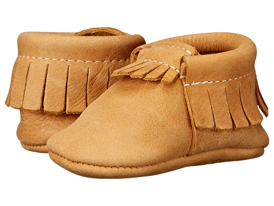 Freshly Picked - Soft Sole Moccasins (Infant/Toddler) (Beehive State) Kids Shoes