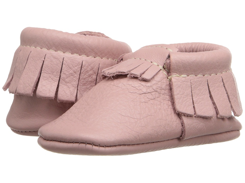 Freshly Picked Soft Sole Moccasins Infant/Toddler Blush Girls Shoes