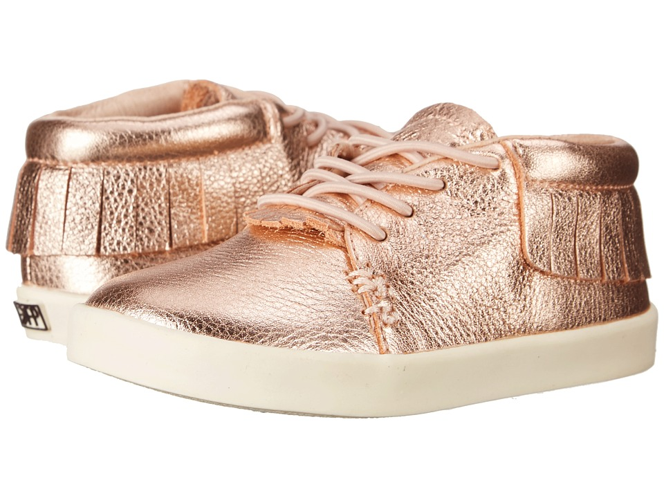Freshly Picked Hard Sole Moccasins Toddler/Little Kid Rose Gold Kids Shoes