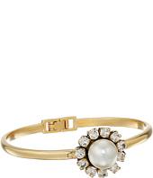 Marc Jacobs - Crystal Flower Hinge Cuff Bracelet