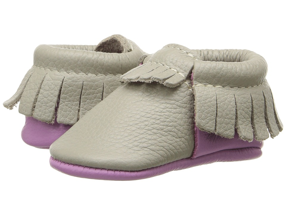 Freshly Picked - Soft Sole Moccasins (Infant/Toddler) (Saltwater/Sand) Kids Shoes