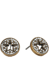 Marc Jacobs - Pave Star Studs Earrings