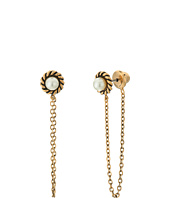 Marc Jacobs - Chain Pearl Cabochon Stud Earrings