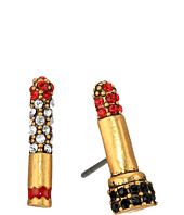 Marc Jacobs - Lipstick Cigarette Studs Earrings