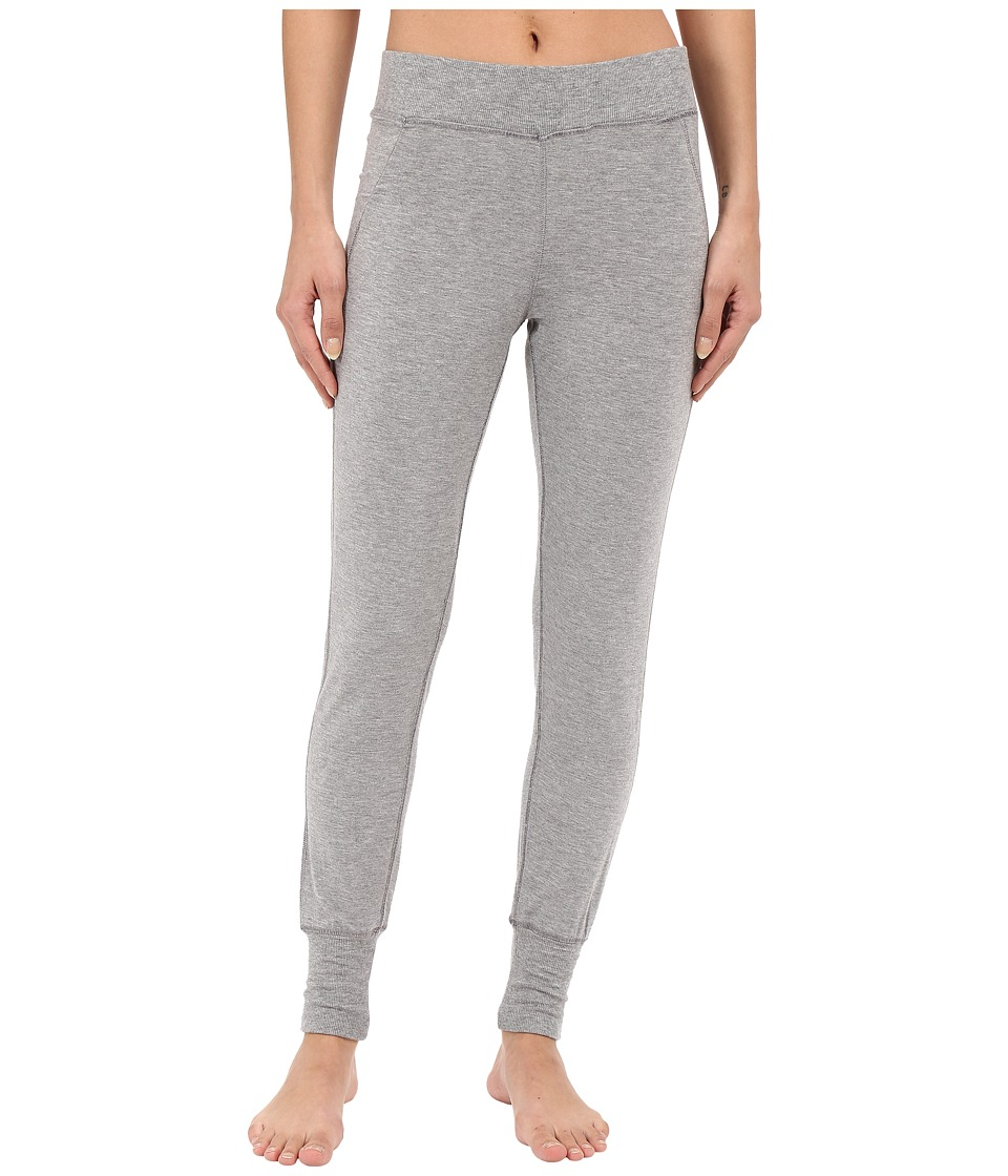 Midnight by Carole Hochman Lounge Leggings Heather Grey Womens Pajama