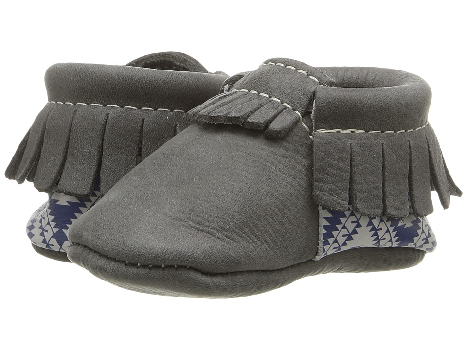 Freshly Picked - Soft Sole Moccasins (Infant/Toddler) (Sweetwater) Kids Shoes