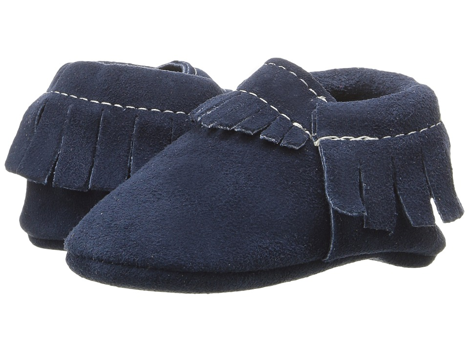 Freshly Picked - Soft Sole Moccasins (Infant/Toddler) (Velvet Night) Kids Shoes