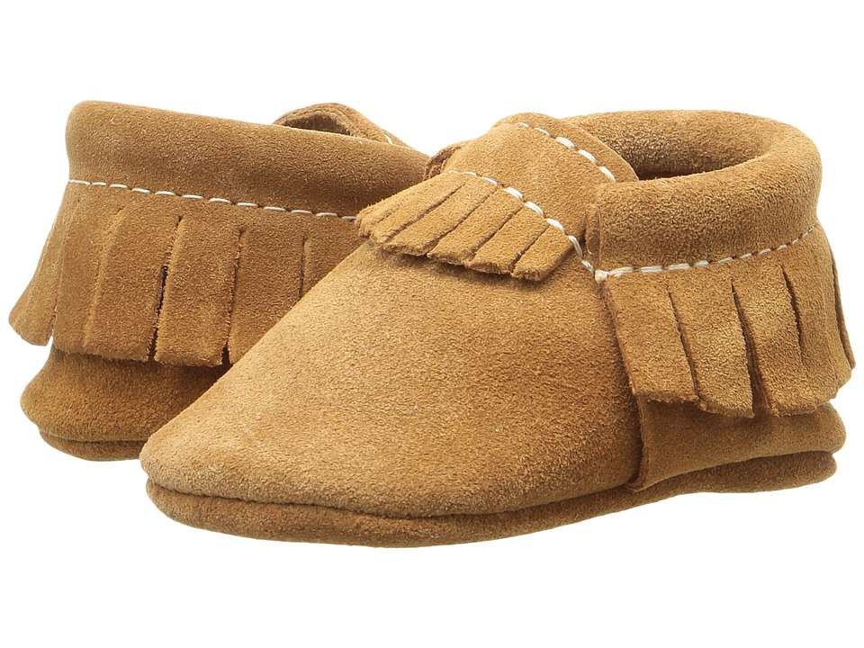 Freshly Picked - Soft Sole Moccasins (Infant/Toddler) (Velvet Mocha) Kids Shoes
