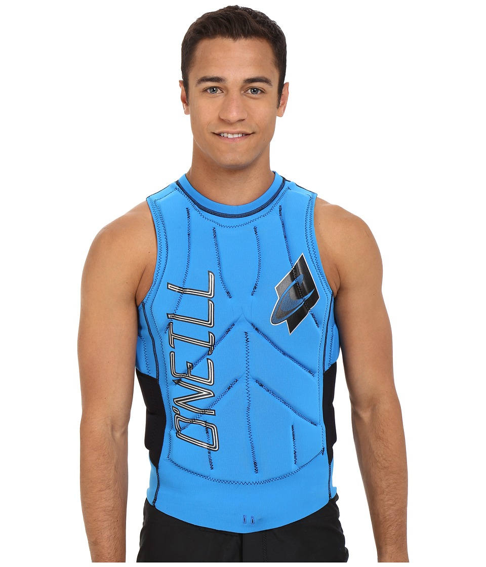 ONeill Gooru Tech Comp Vest Brite Blue/Black Mens Swimwear