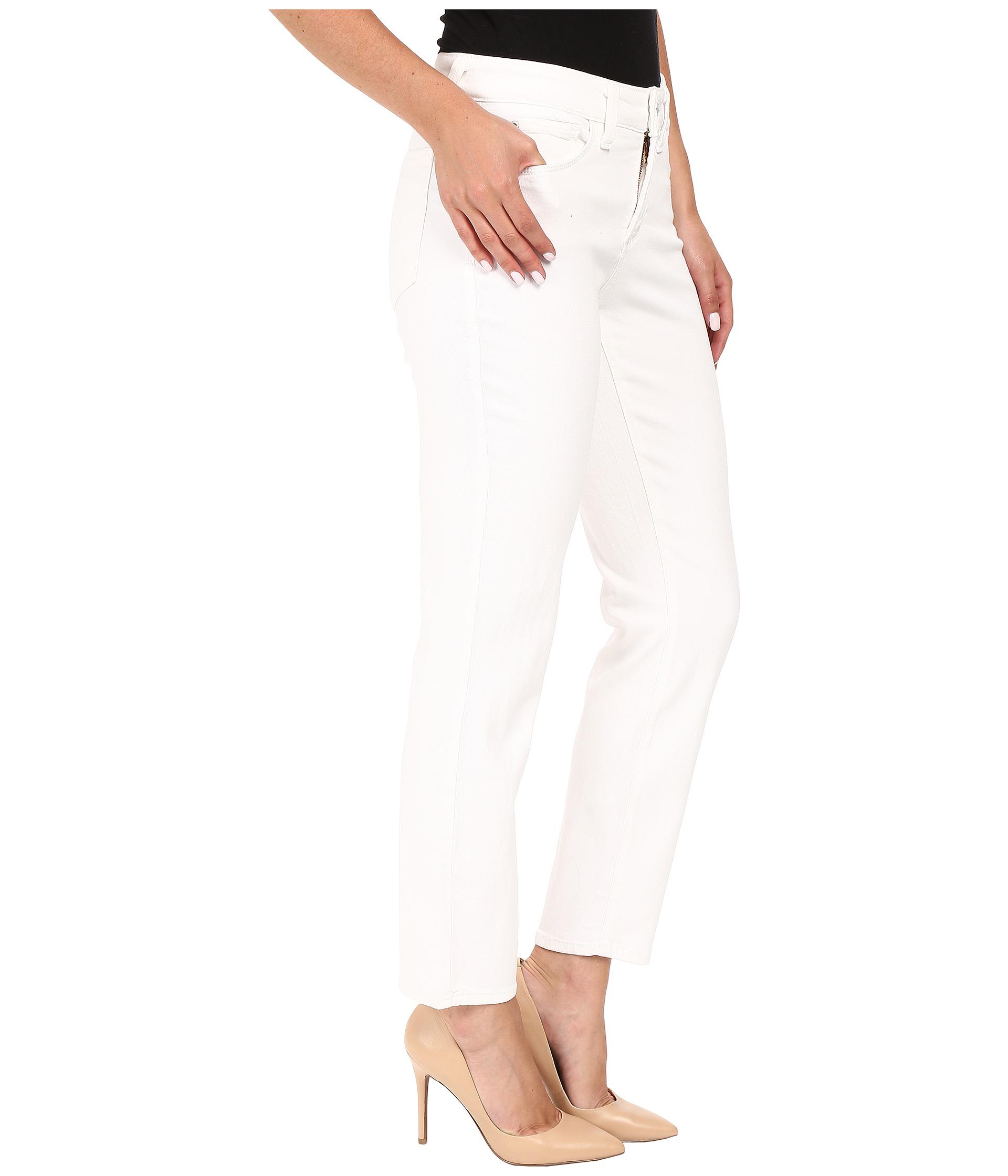 NYDJ Clarissa Ankle Optic White Zapposcom Free Shipping