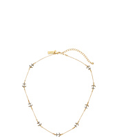 Kate Spade New York - Anchors Away Pave Anchor Short Scatter Necklace