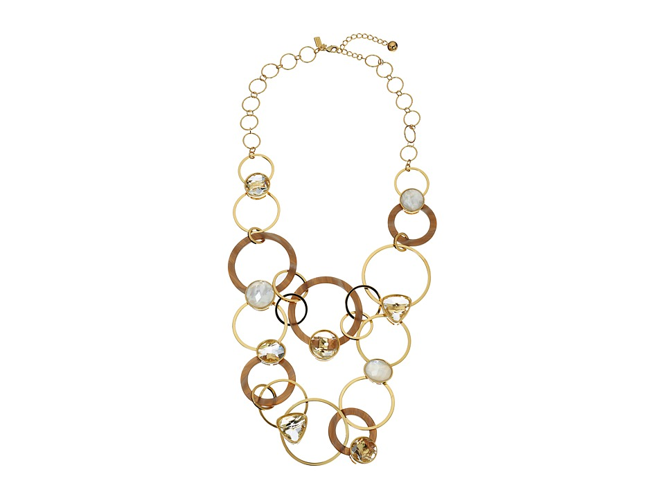 Kate Spade New York Sun Kissed Sparkle Statement Necklace Clear Multi Necklace