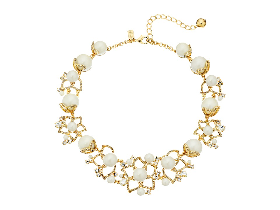 Kate Spade New York Pearl Street July Statement Necklace Cream Multi Necklace