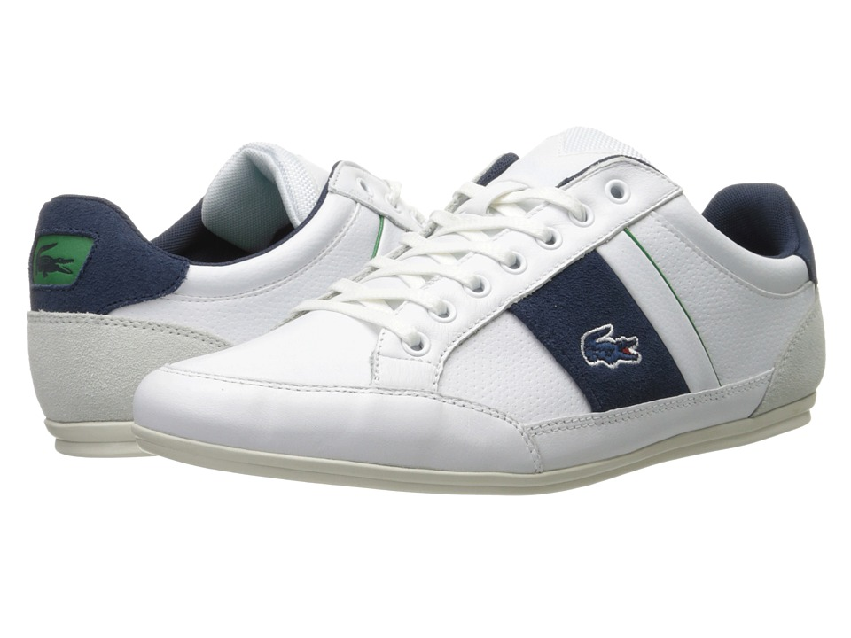 Lacoste - Chaymon 216 1 (White/Navy) Men