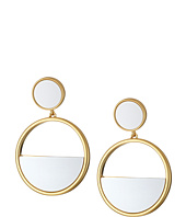 Kate Spade New York - Classic with A Twist Drop Hoop Earrings