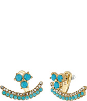 Kate Spade New York - Dainty Sparklers Double Row Ear Jackets