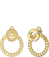 Kate Spade New York - Infinity & Beyond Hoop Ear Jackets