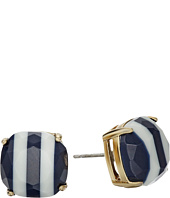 Kate Spade New York - Kate Spade Earrings Striped Small Square Studs
