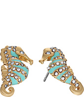 Kate Spade New York - Paradise Found Seahorse Studs Earrings
