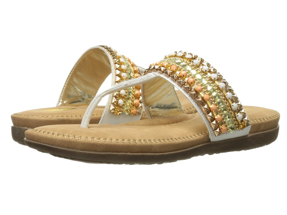 VOLATILE Francine White Womens Sandals