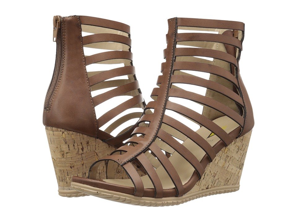 VOLATILE Rubie Tan Womens Wedge Shoes