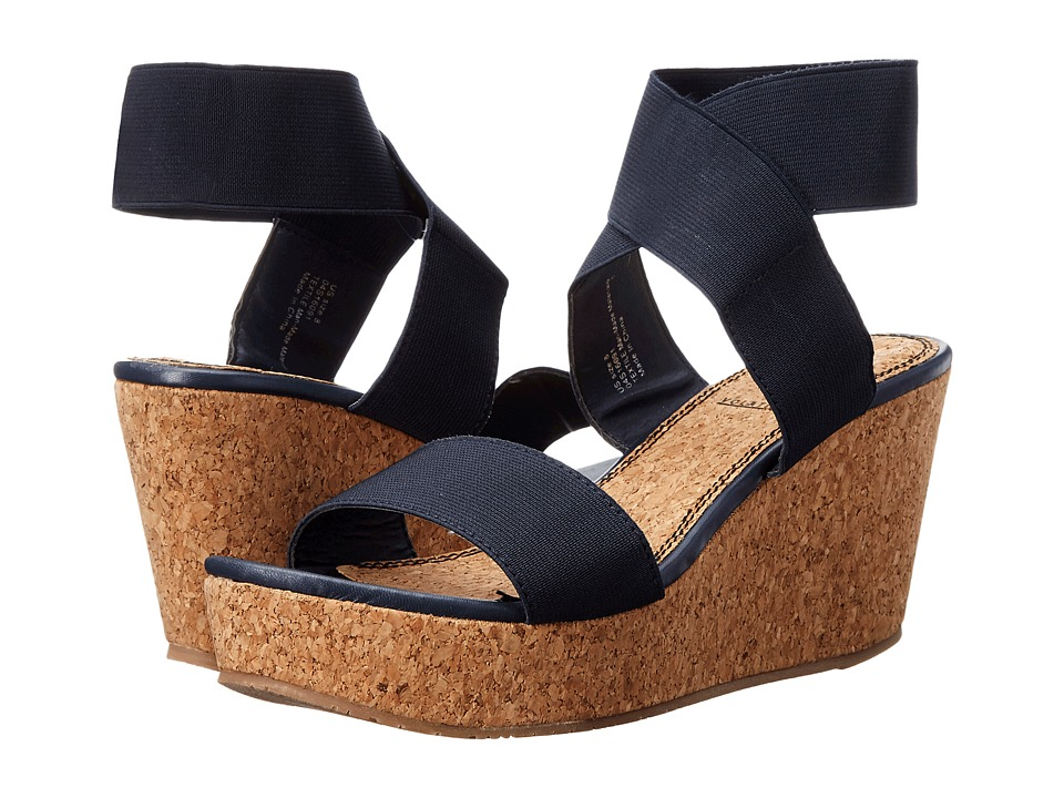 VOLATILE Mandaya Navy Womens Wedge Shoes