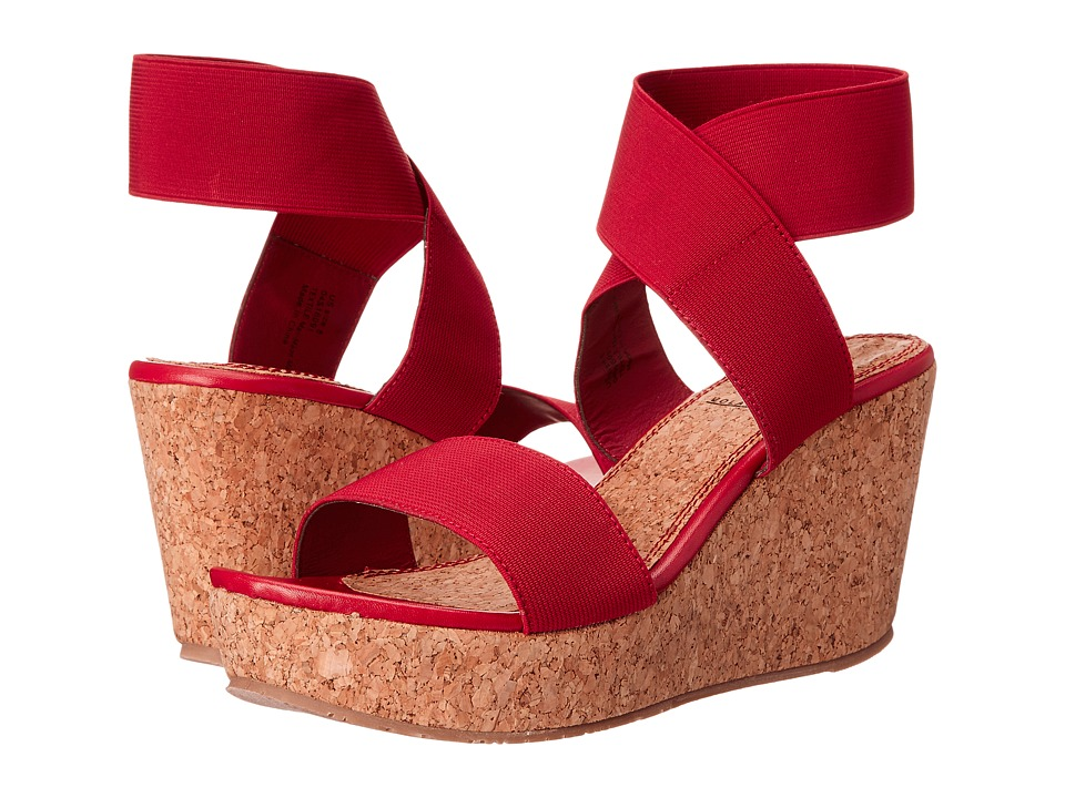VOLATILE Mandaya Red Womens Wedge Shoes