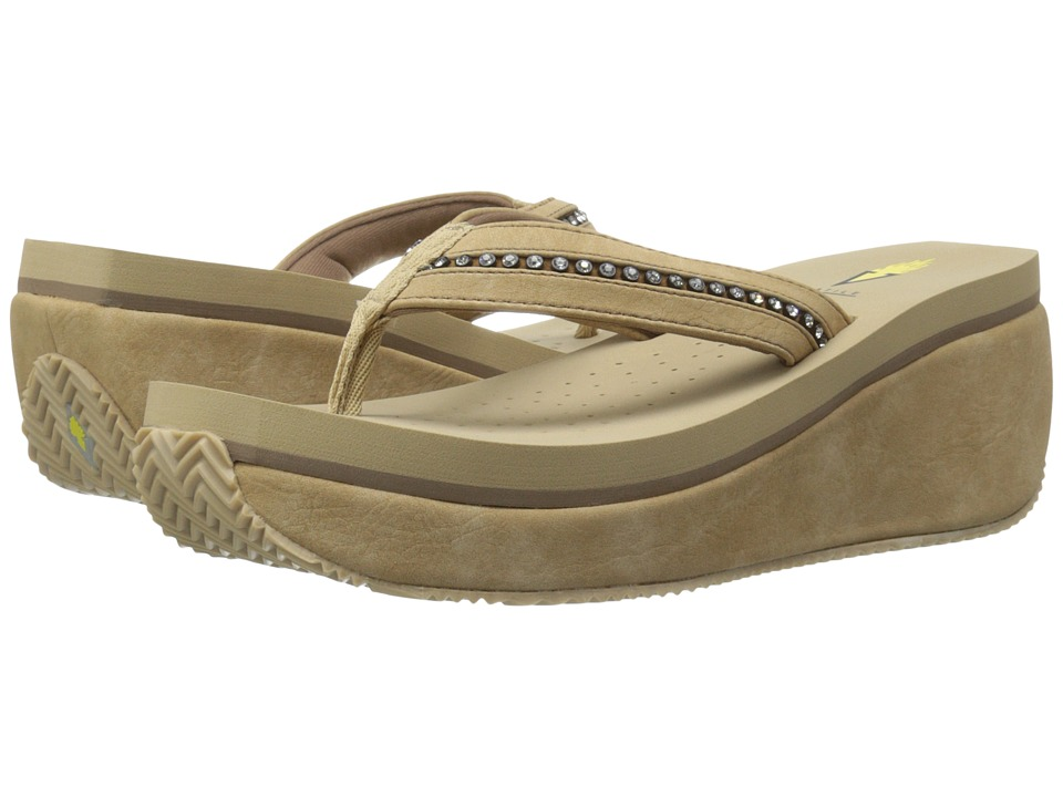 VOLATILE Nellore Natural Womens Wedge Shoes