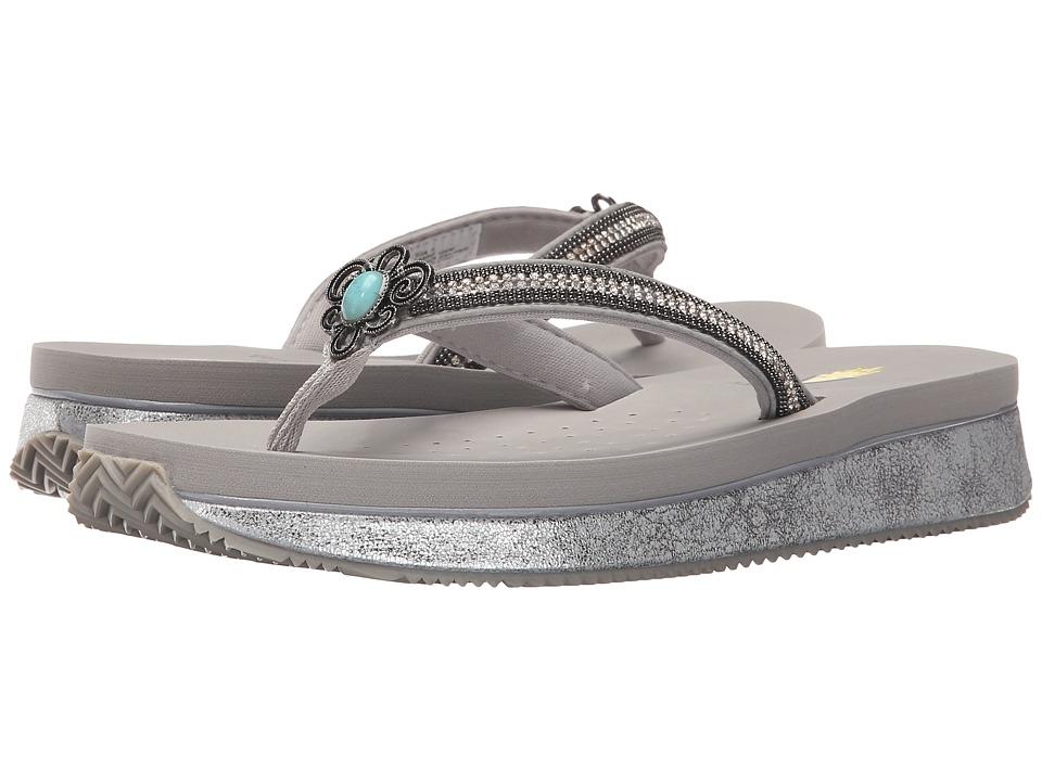 VOLATILE Bronte Silver Womens Sandals