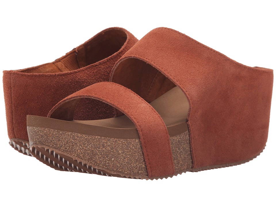 VOLATILE August Whiskey Womens Wedge Shoes