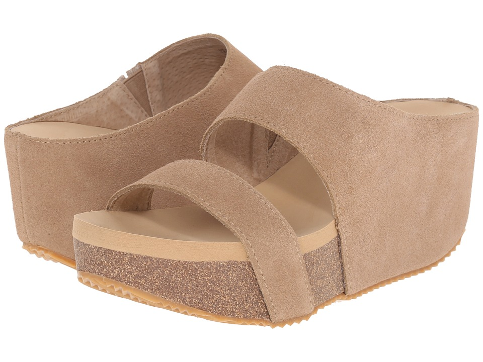 VOLATILE August Sand Womens Wedge Shoes