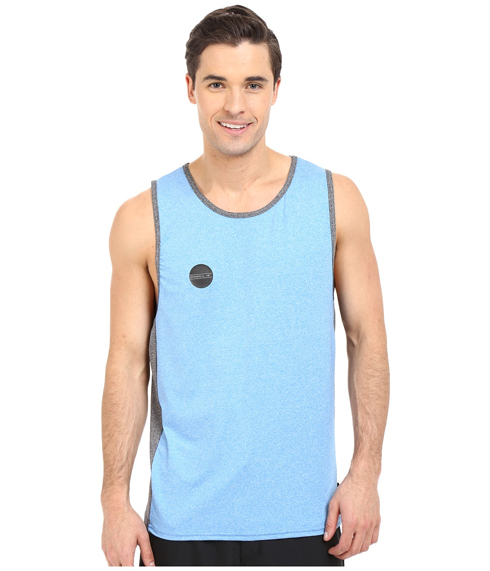 ONeill 24 7 Hybrid Tank Top Brite Blue/Black Mens Swimwear