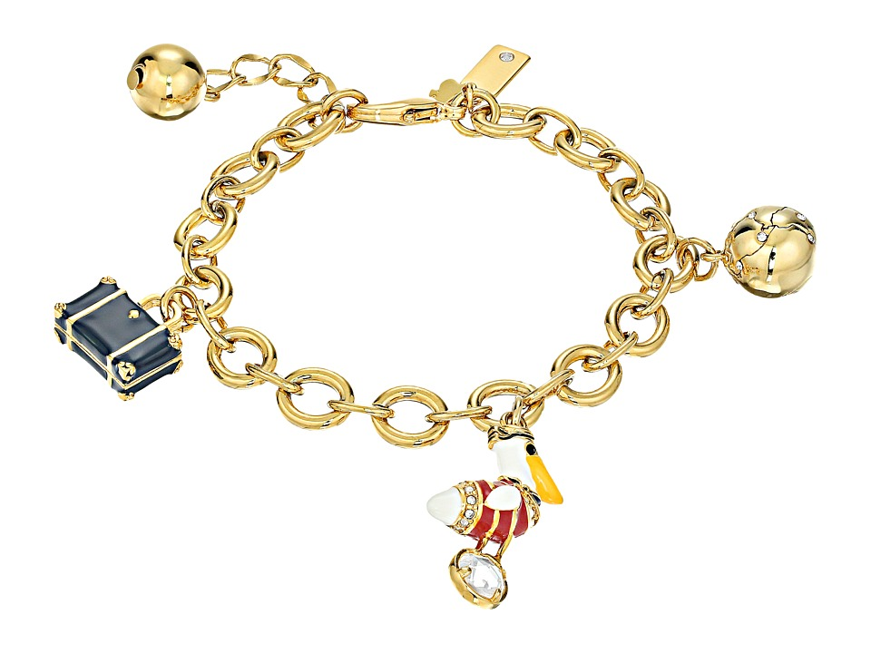 Kate Spade New York How Charming Travel Charm Bracelet Multi Bracelet