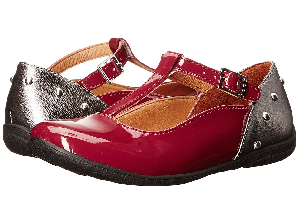 Umi Kids Eleni II (Little Kid/Big Kid) (Burgundy Multi) Girl's Shoes