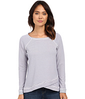 NYDJ - Stripe French Terry Sweatshirt