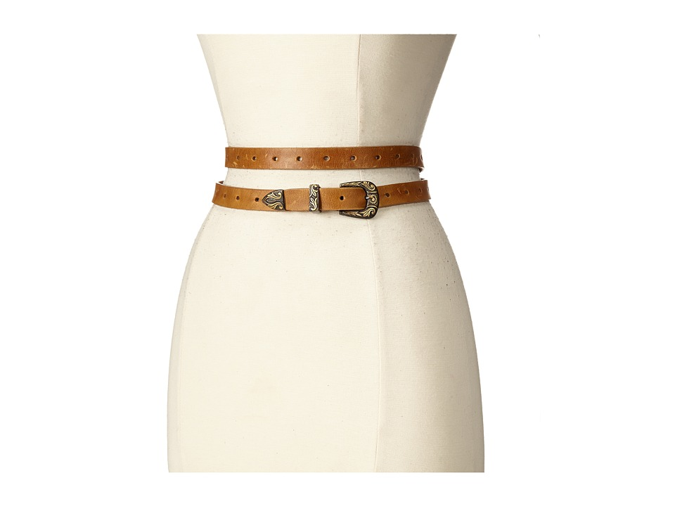 ADA Collection Bina Belt Tan/Bronze Womens Belts