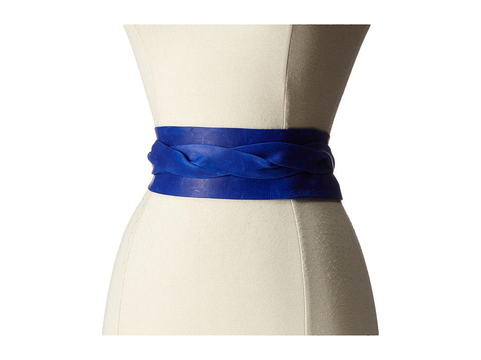 ADA Collection Obi Classic Wrap Electric Blue Womens Belts