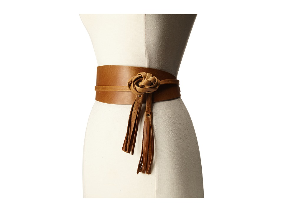 ADA Collection Amelia Belt Tan Womens Belts