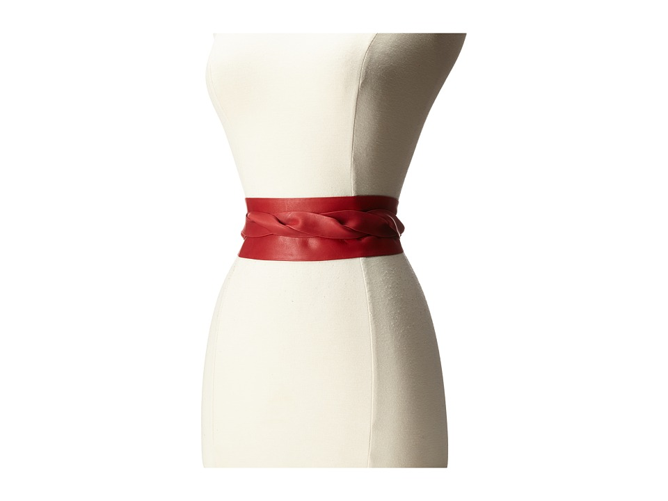 ADA Collection Obi Classic Wrap Fiesta Red Womens Belts