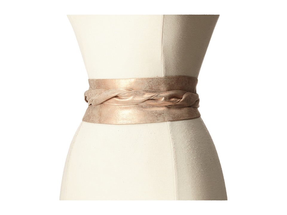 ADA Collection Obi Classic Wrap Rose Shimmer Womens Belts